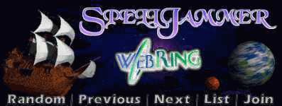 Spelljamming Sites on the Web